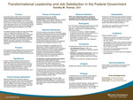 Transformational Leadership and Job Satisfaction in the Federal Government