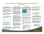 Financial Strategies and Initiatives for Preventing Rural Hospital Closure